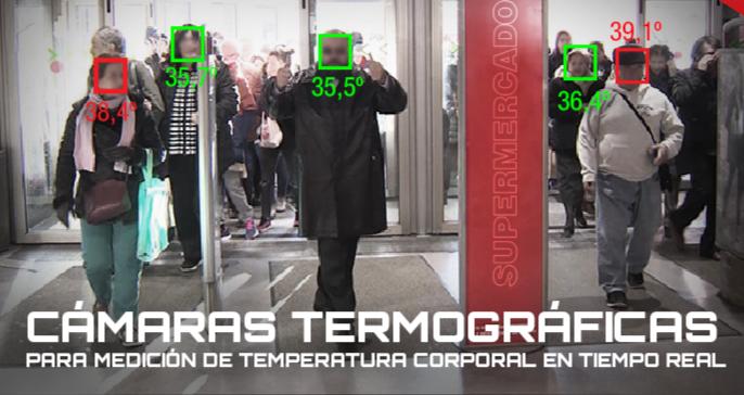 camaras termograficas, camaras medicion temperatura